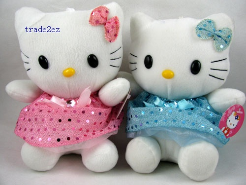 Hello Kitty soft Plush Toy Figures