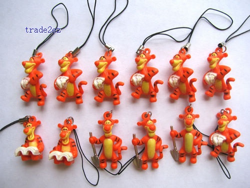 Tiger figures mobile phone Strap Charms