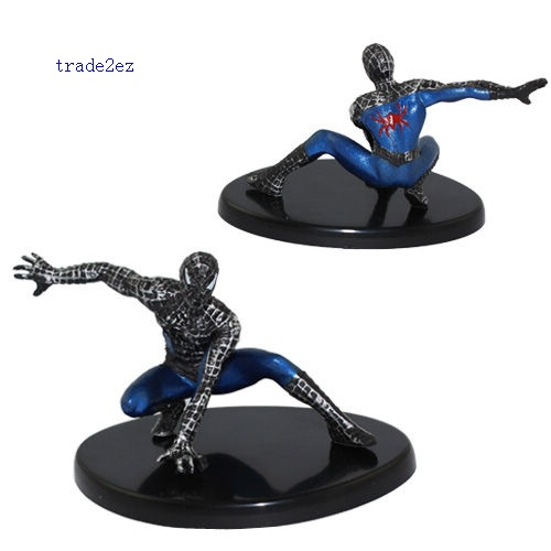 Spider Man PVC Figure Set with Base New