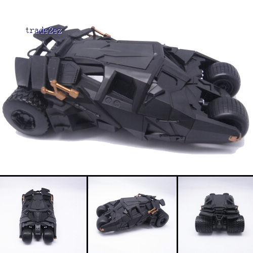 BATMAN BATMOBILE Tumbler Authentic BLACK CAR