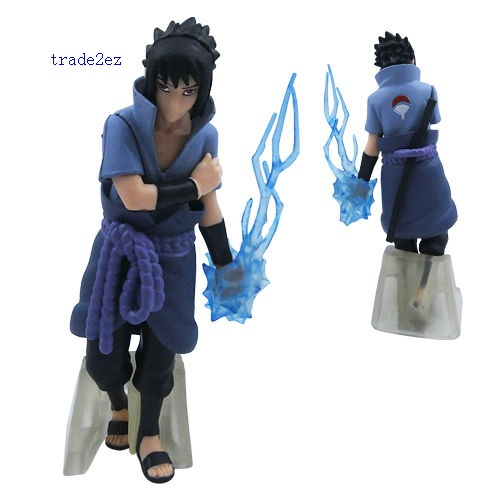 NARUTO Uzumaki Kakashi SASUKE PVC Figure Set Of 5 Pcs