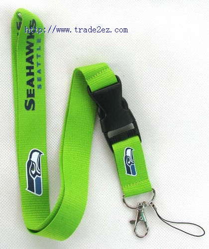SeattleSeahawks NFL Lanyard for MP3/4 cell phone key chain