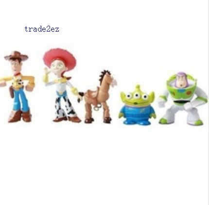 Toy Story Action Figure Doll pvc figuren Xmas Gift set of 5pcs NEW