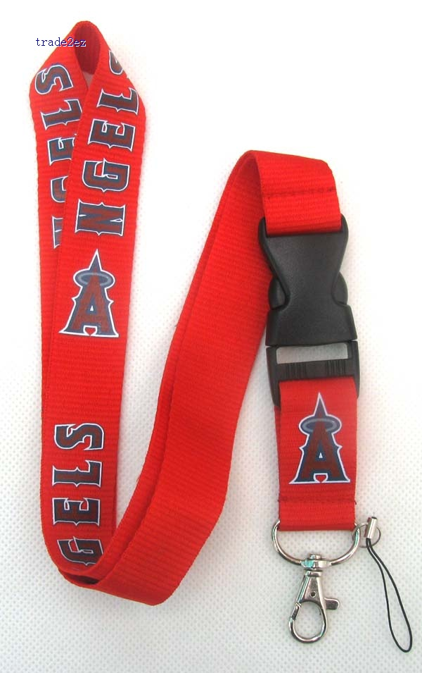 Anaheim Angel Logo Style Neck Strap Lanyard Cell Phone Key MP3 ID Card PDA Holder
