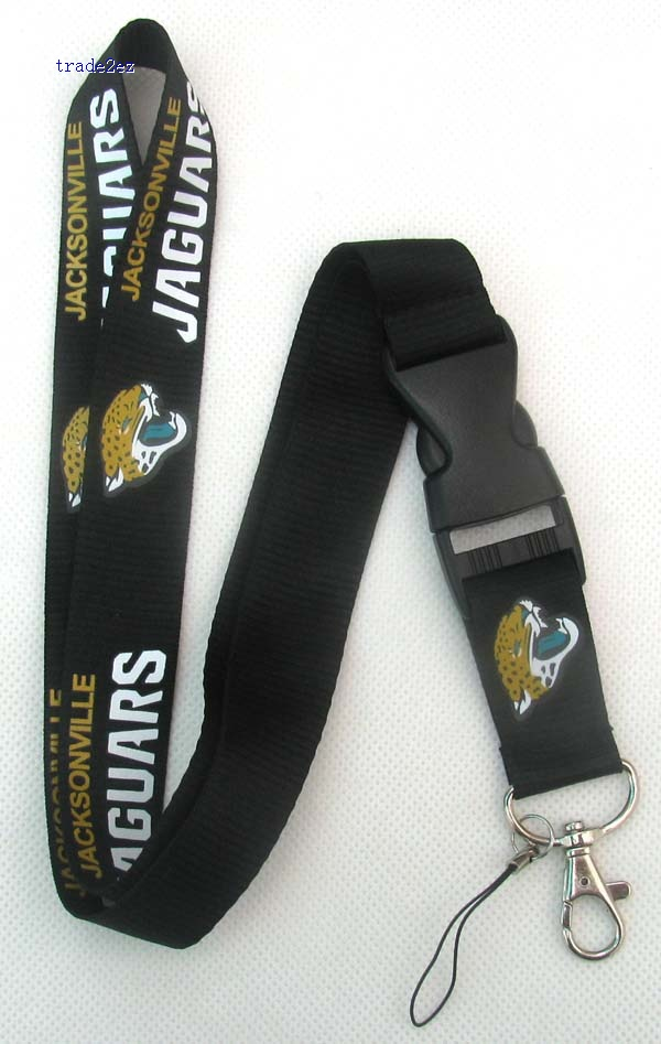 Jacksonville Jaguars Logo Style Keychain cell phone Lanyard