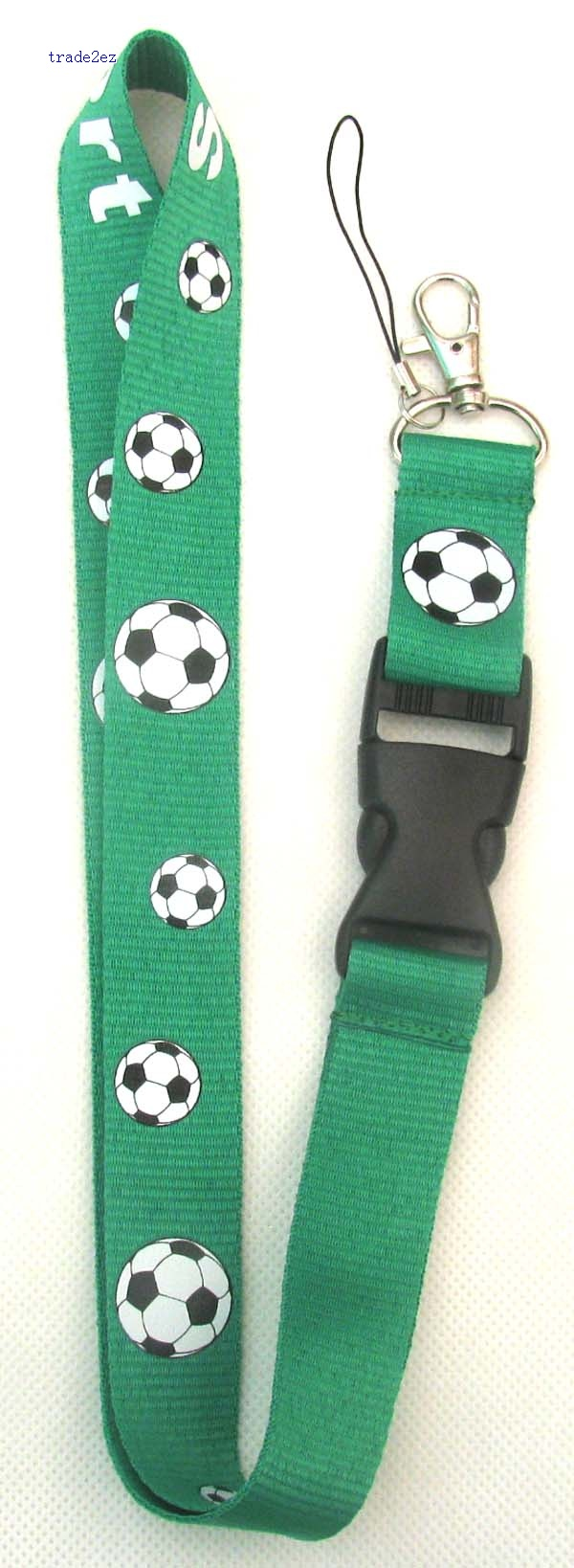 football brand Logo Lanyard/ MP3/4 cell phone/ keychains /Neck Strap