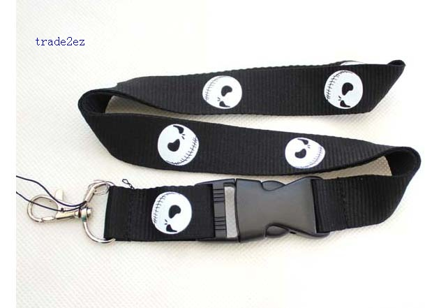 The Nightmare Before Christmas Lanyard ID card Phone Strap