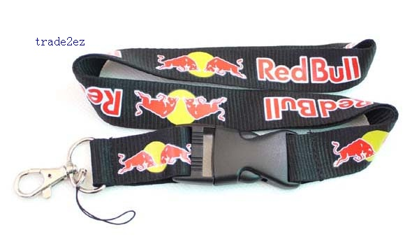 Red Bull Lanyard ID card Phone Strap C