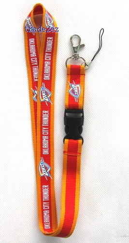 oklahoma city thunder Lanyard Cell Phone PDA Key ID long strap