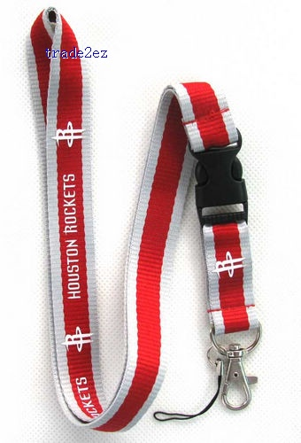 Houston Rockets MOBILE PHONE LANYARD / ID / KEYS NECK STRAP