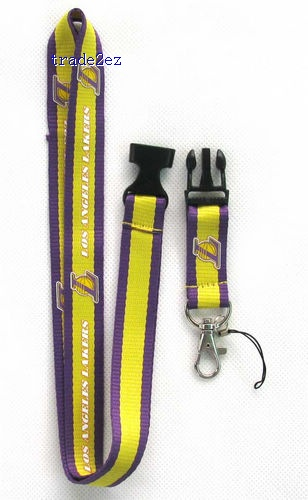 los angeles lakers Phone Lanyard Key ID Neck Strap