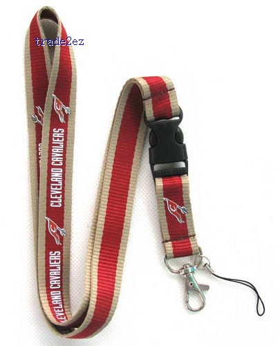 Cleveland Cavaliers Neck Lanyard with Clip Key ID phone Chain