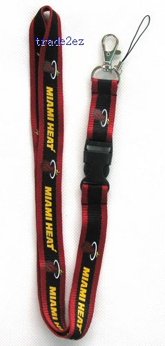 Miami Heat mobile Phone lanyard Key chain straps