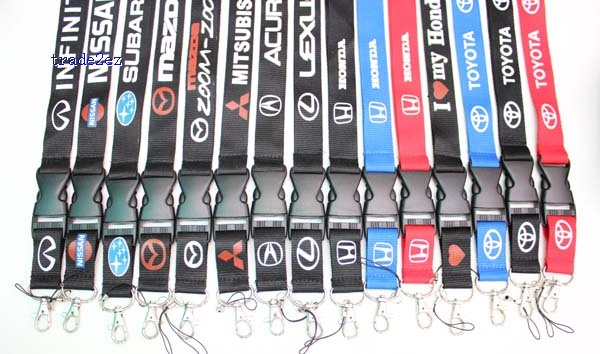 CAR Lanyard ID card Phone Strap A