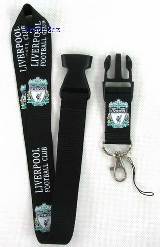 Liverpool Cell Phone Neck Strap Lanyard Charms