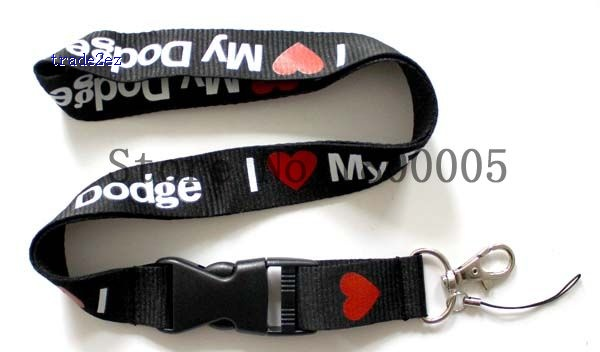 car lanyard I love dodge