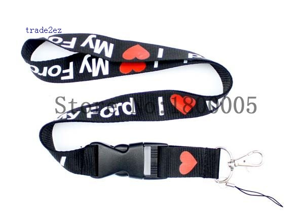 i love ford lanyard car