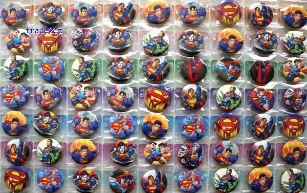 superman 2.5cm badge