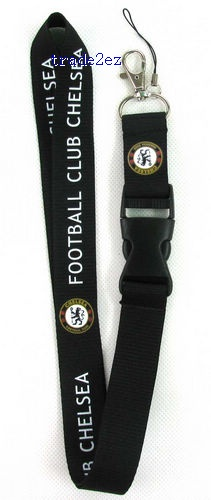 Chelsea neck Lanyard Cell Phone PDA Key ID long strap