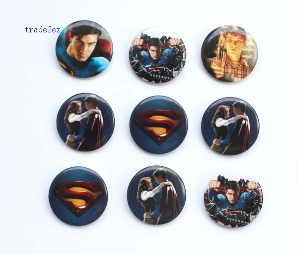 superman 3 cm badge
