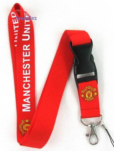 Manchester United Neck Lanyard with Clip Key ID phone Chain