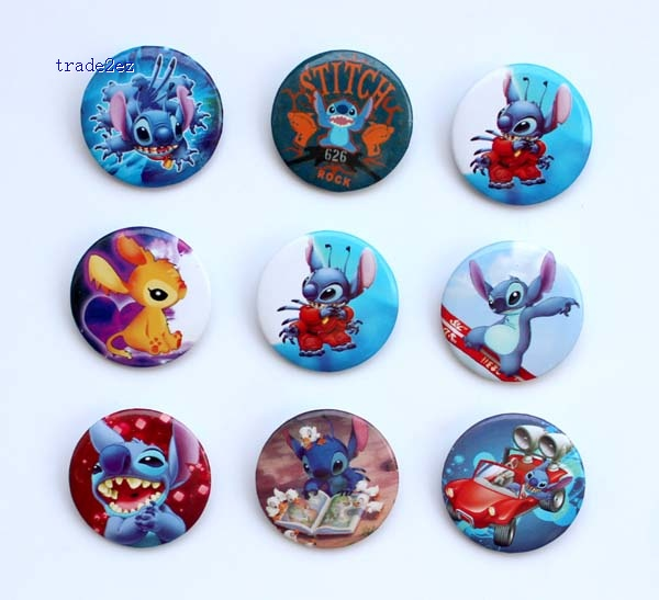 Stitch 3 cm badge