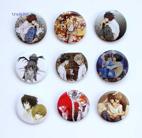 Death Note 3cm badge