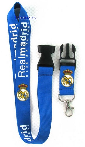 Real Madrid CF Phone Lanyard Key ID Neck Strap