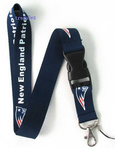 New England Patriots  Neck mobile Phone lanyard Keychain straps