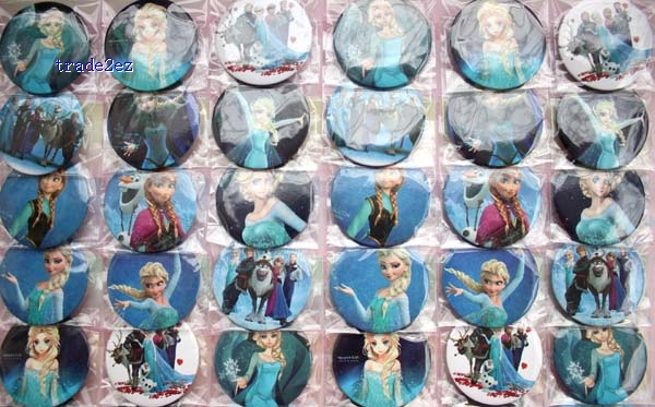 frozen 4.5cm badge