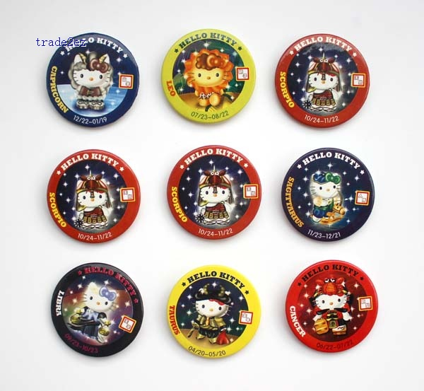 Hello Kitty 4.5 cm badge Fashion new