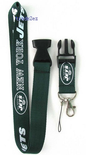 New York Jets Neck Strap Lanyards for Cell Mobile Phone Keys Straps