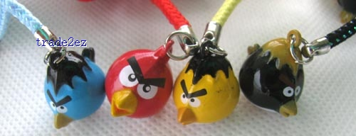 mix angry bird ring