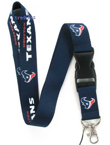 Houston Texans mobile Phone lanyard Key chain