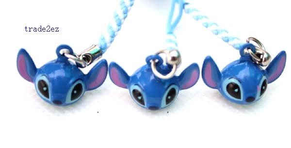 Stitch ring bell blue head