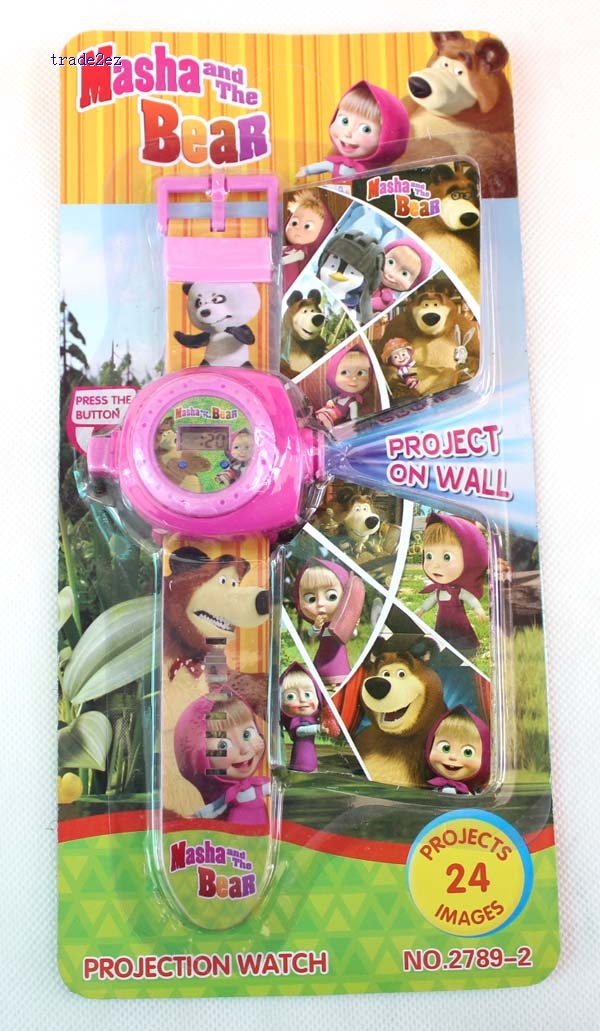 Masha&Bear projection watches 24 pictures