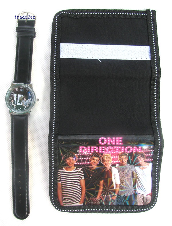 High School Musical watches and wallet set