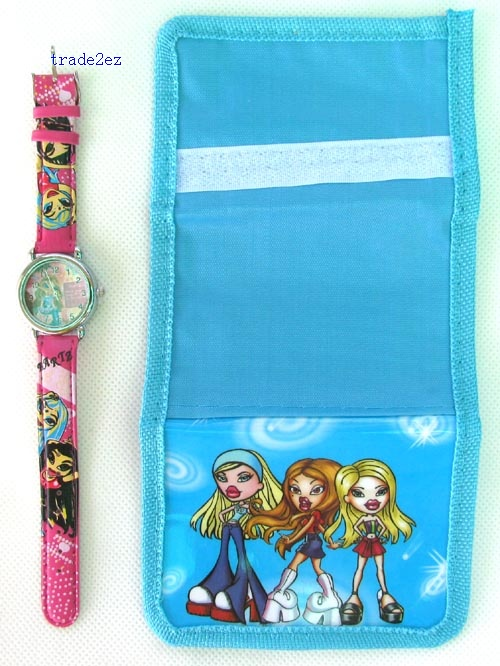 bratz wallet and watch set