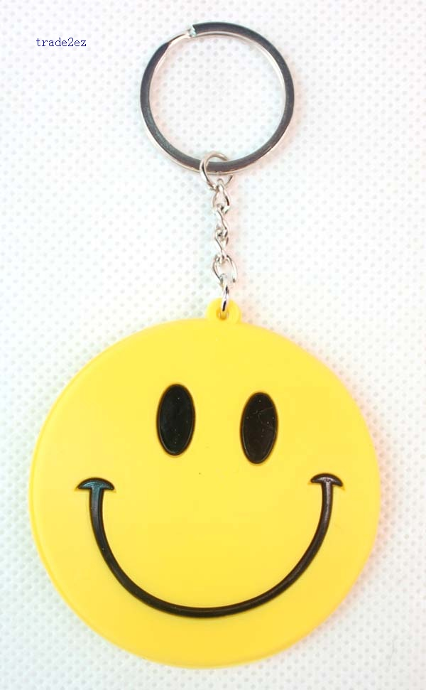 face smile keychain