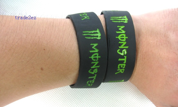 Monsters silicone bracelet