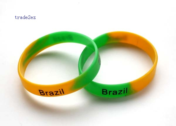 all world football teams silicone bracelet