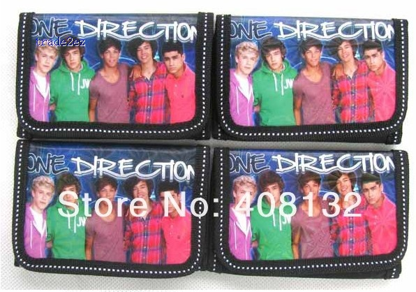 One Direction trifold wallet
