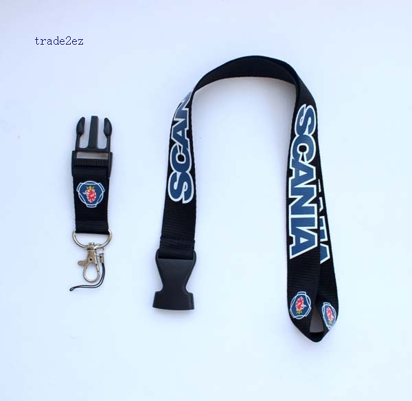 scanta car logo lanyard