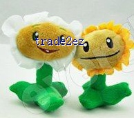 Plants vs. Zombies 12cm plush toy 14 pcs set