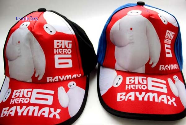 big hero 6 baymax kids baseball cap