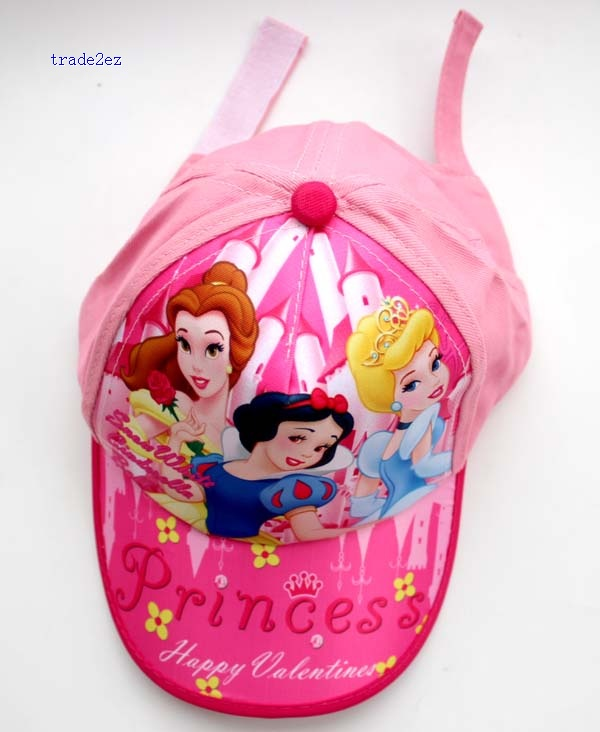 princess snow white kids baseball cap