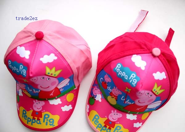 peppa pig kids baseball cap