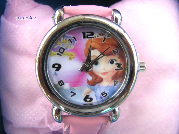 Sofia the First kid watches in box