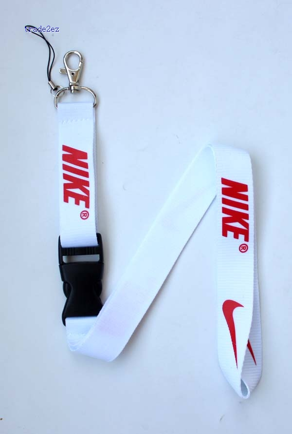 Nike lanyard White Red