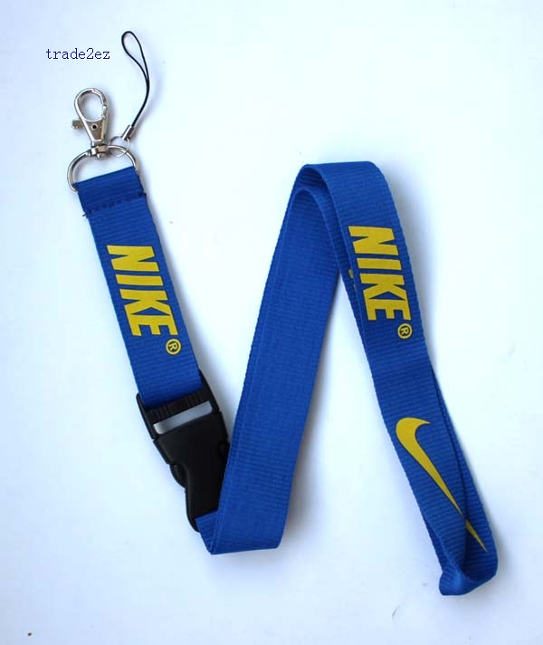 Nike lanyard Blue Yellow